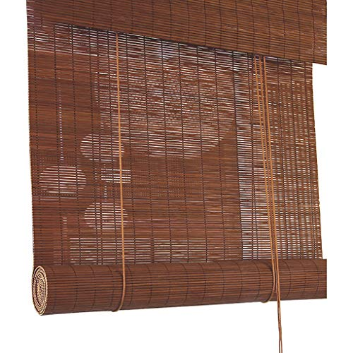 WenFei shop Persianas enrollables de bambú: persianas enrollables Personalizadas, persianas enrollables de bambú para Exteriores/Interiores, Cortina Parasol, decoración de balcón, Personalizables