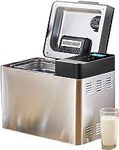 آلة الخبز، آلة خبز الفولاذ المقاوم للصدأ، يمكنك صنع الخبز الخاص بك، آلة العجن متعددة الوظائف في المنزل، آلة الإفطار، الإفط...