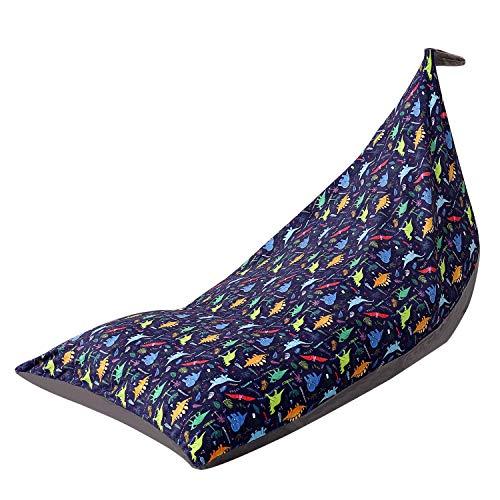 Stofftier Sitzsack Stuhl Kids Toy Storage Organizer Stuffie Sitz, extra große Baumwolle Bodenstuhl Sofa Sitz für Kinder, Jugendliche und Erwachsene (A)
