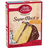 Betty Crocker Cake Mix - Super Moist Yellow 15.25oz 432g