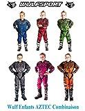 Moto Enfants Costume de Course Wulf Enfants Firestorm Costume Nouveau 2018 Hors Route...