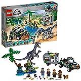 LEGO 75935 JurassicWorld L'affrontementduBaryonyx:laChasseautrésor avec Jouet Buggy Hors Route
