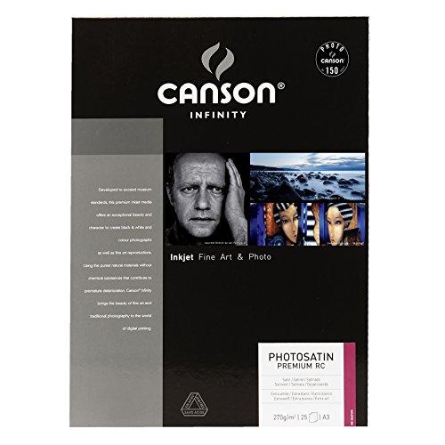 Canson 6231010 Photosatin Premium RC A3 25 29,7 x 42 cm (A3) Carta fotografica