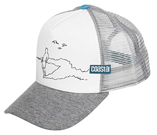Djinns Coastal - Rider (White) - High Fitted Trucker Cap