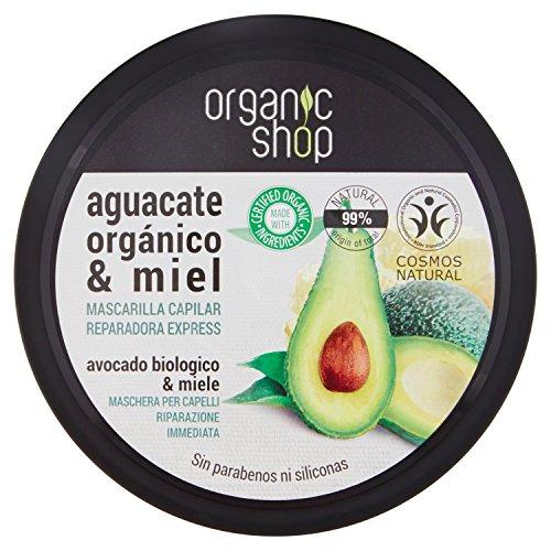 Mascarilla Capilar Reparadora de Miel y Aguacate 250 ml