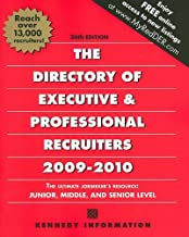 kennedy information directory of executive recruiters