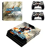 FENGLING Gioco Jump Force One Piece Ps4 PRO Skin Sticker per Playstation 4 Console e Controller Ps4 PRO Skin Sticker Decal Vinile