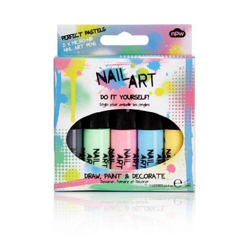 Nail Art Nail Parfait Pastel Pack 5