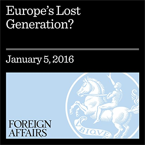 Europe's Lost Generation? cover art
