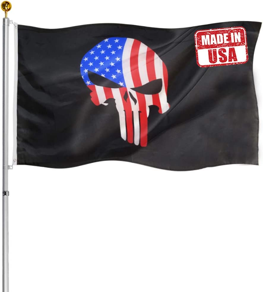 Punisher Skull Flag Popular products 3x5- Memorial Demon American Ranking TOP19 Flags