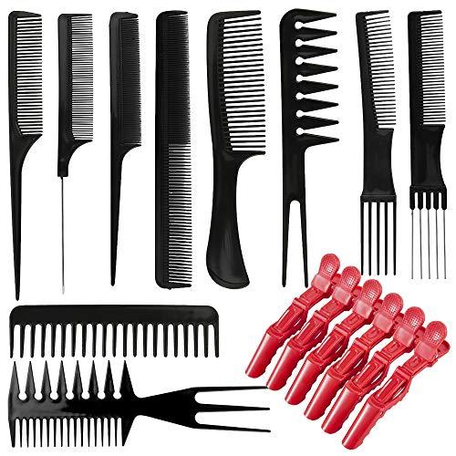 10 Pcs Professional Hair Comb Se...