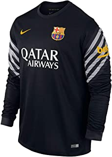 NIKE Barcelona 15/16 Goalkeeper Black/White Jersey