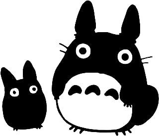Bargain Max Decals - Totoro Black Decal Studio Sticker Decal Notebook Car Laptop 5