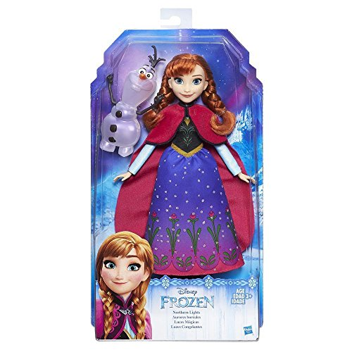 NEW Disney B9200 Frozen Northern Lights Doll Anna and Olaf Figure