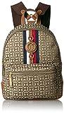 Tommy Hilfiger Women's Backpack Jaden, Tan Dark Chocolate, One Size