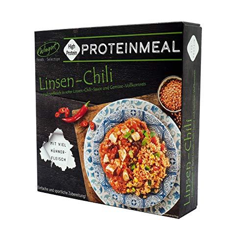 Proteinmeal Linsen-Chili – Fertiggericht für die Mikrowelle / Wasserbad – Wingert Foods Selection