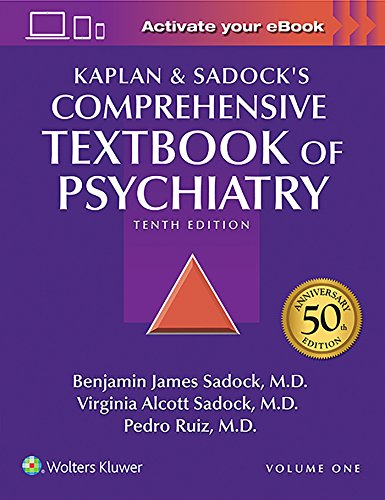 Compare Textbook Prices for Kaplan and Sadock's Comprehensive Textbook of Psychiatry 2 Volume Set 10 Edition ISBN 9781451100471 by Sadock, Benjamin J.,Sadock, Virginia A.,Ruiz MD, Dr. Pedro