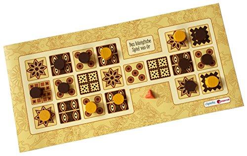 Spieltz 52535: Das königliche Spiel von Ur (braun/weiß) / Royal Game of Ur