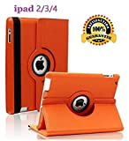Best Ipad2 Cases - iPad 2/3/4 Case - 360 Degree Rotating St Review