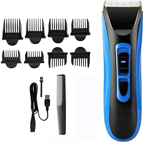 Pelo tijeras de corte de pelo de la herramienta maquinilla eléctrica cortadora de cabello impermeable cable de precisión / Wireless Fundido Clipper Dispositivo de ajuste fino en 60 minutos de tiempo d