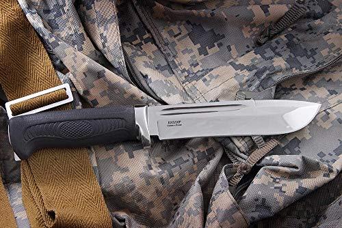 Kizlyar Jagdmesser, Outdoormesser Samur Poliert