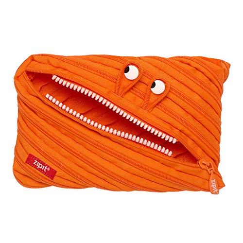 ZIPIT Monster Big Pencil Case, Orange