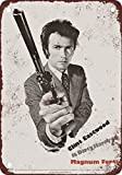 MIKLEOU Metall Wandschild 1973Dirty Harry Magnum Force