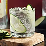 Carraway Custom Gin and Tonic Glass for Cocktails (Personalized Product)