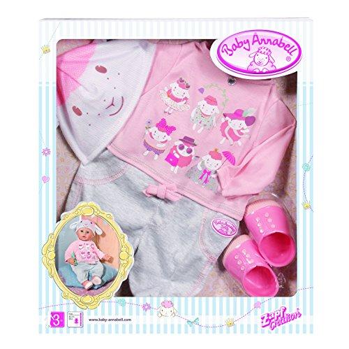 Zapf Creation Tenue de Jour décontractée pour bébé de, Collection Baby Annabell de