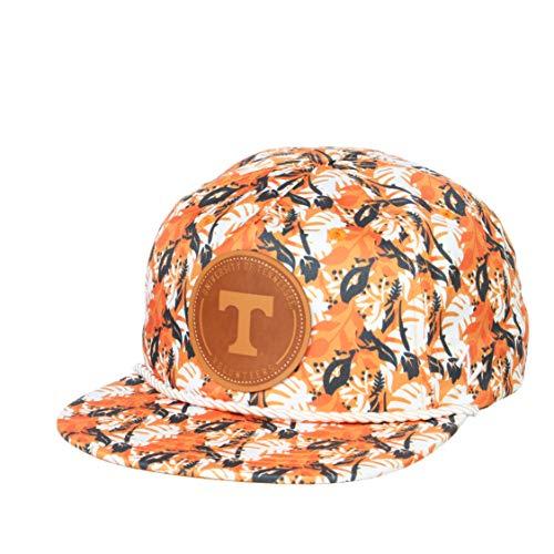 NCAA Zephyr Tennessee Volunteers Mens Malibu Snapback Hat, Adjustable, Fashion Team Color