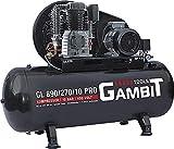 Gambit Tools Profi Kompressor GL 890/270/10 PRO 5,5kw 10 bar 270 Liter Druckluft Werkstatt Industrie...
