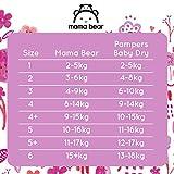 Mama Bear Ultratrockene Windeln Größe 5  (10-16 kg) – mit Luftkanälen- 160 Windeln (2 Packungen à 80 Windeln) - 6