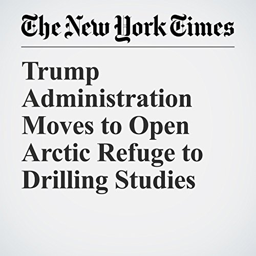 Trump Administration Moves to Open Arctic Refuge to Drilling Studies copertina
