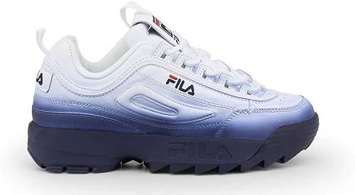 Fila chaussures Basse Basse paniers femmes Bianco (DISRUPTOR-2-PREMIUM-FADE_5FM00541)  économiser 60% de réduction