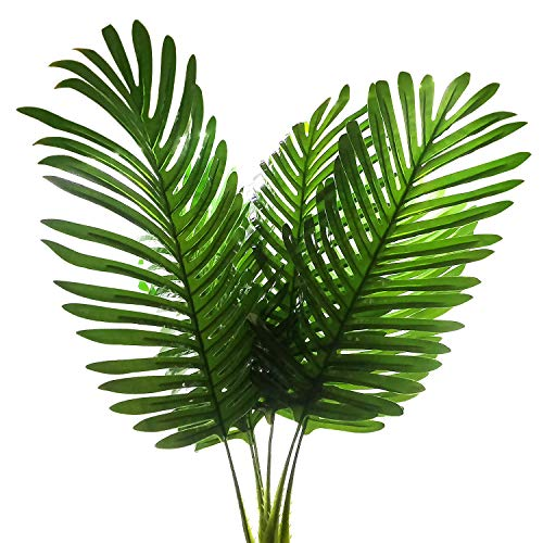 Artificial Palm Plants Leaves Turtle Leaf Tropical Large Palm Tree Leaves