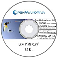 "OpenMandriva Lx 4.1 ""Mercury"" (64Bit) - Bootable Linux Installation DVD"