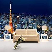 Djskhf カスタム写真の壁紙パリタワー都市ビル風景壁壁画オフィスリビングルーム寝室の装飾壁紙 360X250Cm