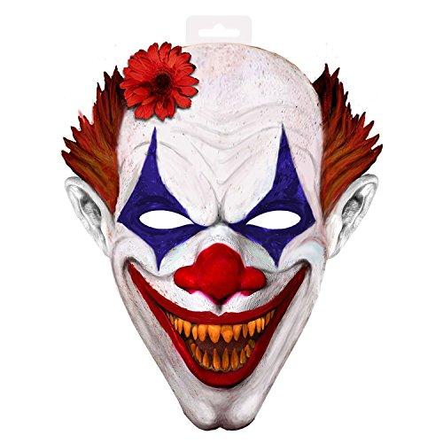 Folat 61362 Grusel Clown Maske XXL, Keine, Unisex