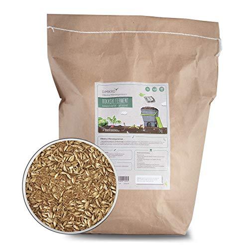 DIMIKRO Bokashi Ferment getrocknet - Kompoststarter und Fermentationshilfe für Bokashi Eimer - Mit Effektiven Mikroorganismen (2 Kg)