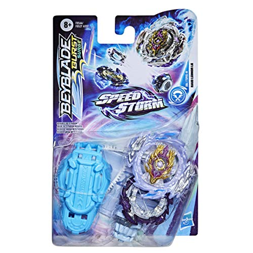 Hasbro Beyblade Burst Surge Speedstorm Raid Luinor L6 Kreisel Starter Pack – Battle Kreisel mit Starter