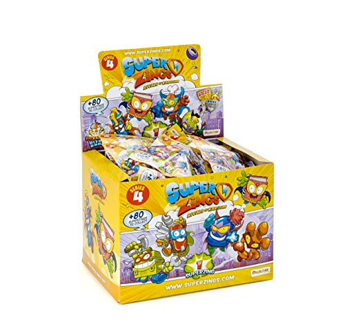 Superzings IV - Display de 50 figuras coleccionables SuperZings , color/modelo surtido