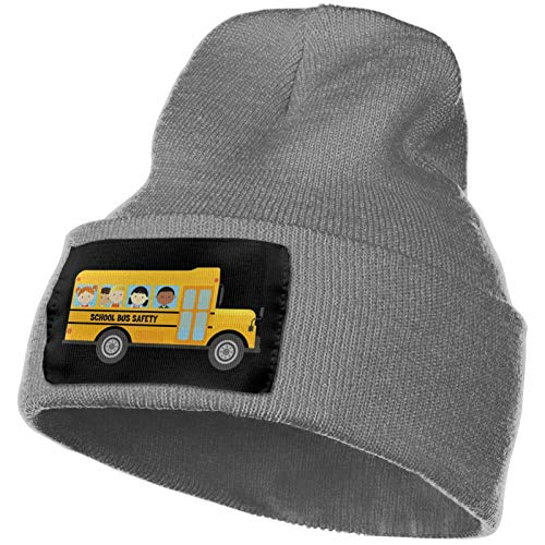 Escuela de Autobús Conductores Necesitados Hombres Mujeres Knit Beanie Sombrero Invierno Grueso Cálido Suave Esquí Skull Cap