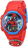 Marvel Boys' Quartz Plastic Strap, red, 15 Casual Watch (Model: SPD4452)