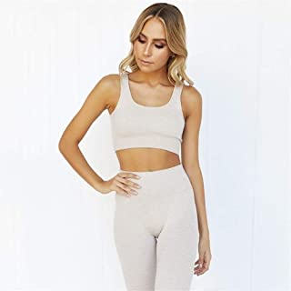 OneChange Two Sets of Fitness Sportswear, Ladies Sports Bra and Tight Pants Suits, Ladies Sportswear, Workout Clothes, Spo...