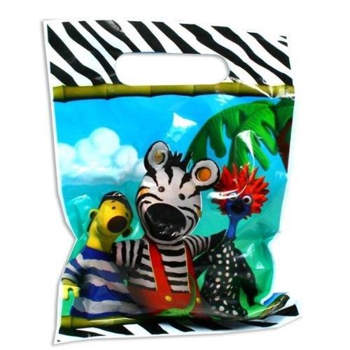 8 Geschenktüten Zigby das Zebra
