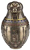 Egyptian God Hapi Canopic Jar Statue - Excellent for Display As Well As Storage