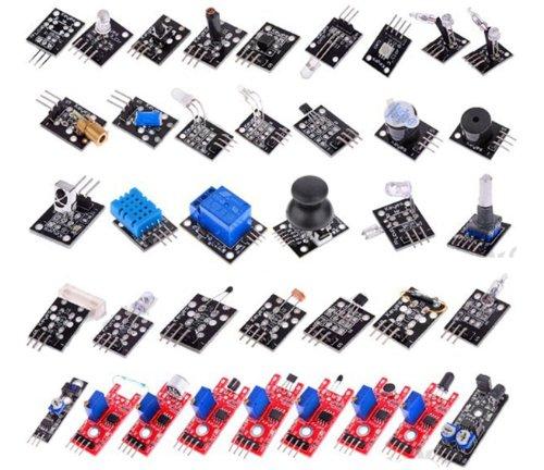 Kit de Pacote de Aprendizagem para Arduino UNO R3 Mega2560 Mega328 Nano (Fornece PDF Guia do Produto)