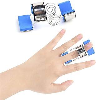 1個 フィンガージョイントトレーニングスプリント装具の指のけいれん片麻痺脳卒中ナックル回復リハビリテーション演習支援,M