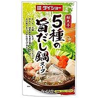 ダイショー 鮮魚亭 5種の旨だし鍋スープ 750g×10袋入