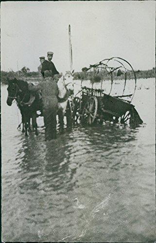 Vintage fotográfico de Primera Guerra Mundial 1914–18our FE en el frente ruso